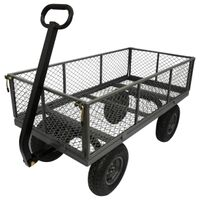 Yard Cart with Sides, 1,200 Lbs