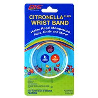 PIC BAND Citronella Plus Wristband, Non-Toxic