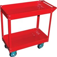 Two Shelf Service Cart, Steel