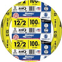 Romex SIMpull 12/2NM-WGX100 Building Wire