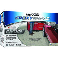 Epoxy Shield Pro Floor Kit, Semi-Gloss Gray
