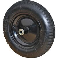 "Wheelbarrow Replacement Wheel, 16"" x 3"""