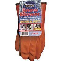 Snow Blower Gloves, Large