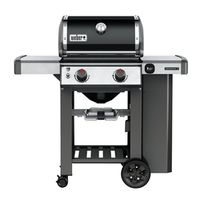 GRILL LP BLK 2 BURNER 380SQ IN