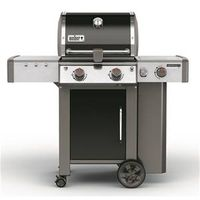 GRILL LP BLK 2-BURNER W/SIDE