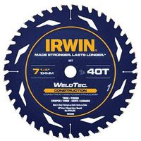 SAW BLADE 7-1/4IN 40T CONST