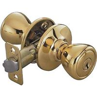 Toolbasix 5764PB-ET-3L Tulip Entry Knob Lockset