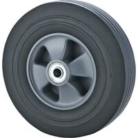 "Solid Rubber Hand Truck Wheel, 10"" x 2.5"""