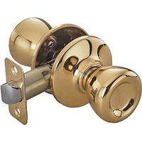 Toolbasix 5764PB-PS-3L Tulip Door Knob Lockset