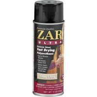 Zar Ultra Fast Drying Polyurethane Spray, 11 oz Gloss