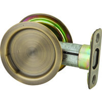 Pocket Door Passage Latch - Round
