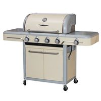 GRILL CART 4-BURNER VINT CREAM