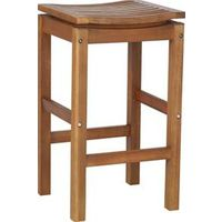 BAR STOOL HARDWOOD 2 PACK