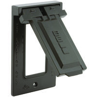 GFCI Vertical Mount Cover, Bronze