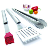 Tool Set, Stainless Steel, 3pc