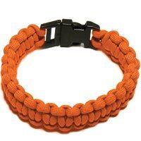 PARACORD BRACELET ORANGE MED
