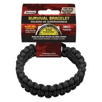 PARACORD BRACELET BLACK SMALL