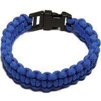 PARACORD BRACELET BLUE LARGE