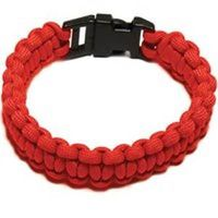 PARACORD BRACELET RED L