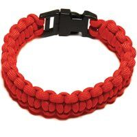 PARACORD BRACELET RED LARGE