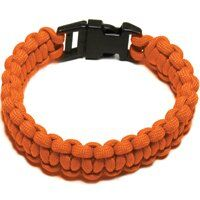 PARACORD BRACELET ORANGE LARGE