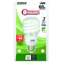 Mini Compact Fluorescent Light Bulb, 15W