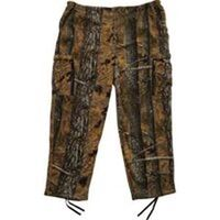 Adult Fleece Camouflage Pants, Large Brown