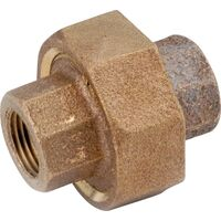 Low Lead Brass Union, 1/4""