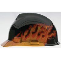 BLACK FIRE V GARD HARD HAT