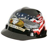 AMERCIAN EAGLE V GARD HARD HAT