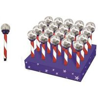 LAWN STAKE SOLAR CRACKLE BALL