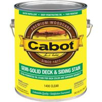 Cabot 1400 Semi-Solid Deck and Siding Stain