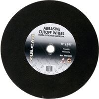 "Abrasive Cut Off Wheel, 14"" x 3/32"""