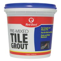 Red? Devil 424 Pre-Mixed Tile Grout?