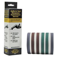 Drill Doctor WSSA0002012 Replacement Abrasive Belt Kit