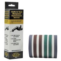 Drill Doctor Knife & Tool Sharpener Belt Replacement Kit