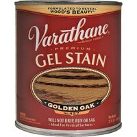 Varathane Interior & Exterior Oil Gel Stain, 1 Qt Golden Oak