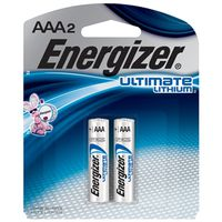 Energizer L92 Cylindrical Electronic Ultimate Lithium Battery