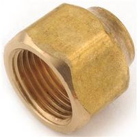 Anderson Metal 754020-0806 Brass Flare Nut
