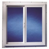 Duo-Corp 3030TMUT Double Slider Utility Window