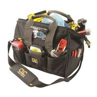 CLC Tech Gear BIGMOUTH Tool Bag With LED