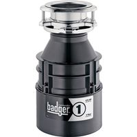 In-sink-erator Badger 1 76039H Continuous Feed Food Waste Disposer