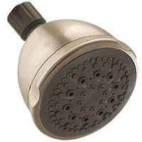 SHOWERHEAD 5-SPRAY SAT NICKEL