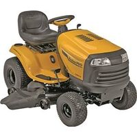 Riding Lawn Mower Tractor with Hydrostatic Foot Pedal Transmission, 23HP 48""