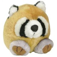 Booda 53601 Medium Soft Bite-able Squatters Raccoon