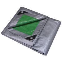 Mintcraft T3040GS140 Poly Tarpaulin with Aluminum Grommets