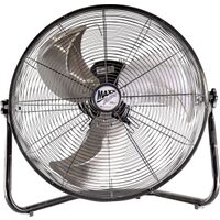 High Velocity Floor Fan, 20""