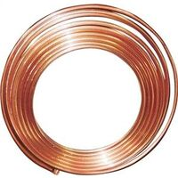 "Type K Copper Coil, 3/4"" x 100'"
