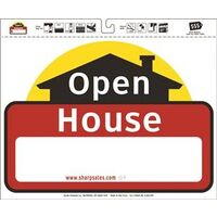 "Open House Lawn Sign, 20"" x 24"""