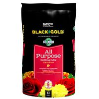 Sun Gro 1410102 16.0 QT P Black Gold Potting Soil, All Purpose, 16 Qt